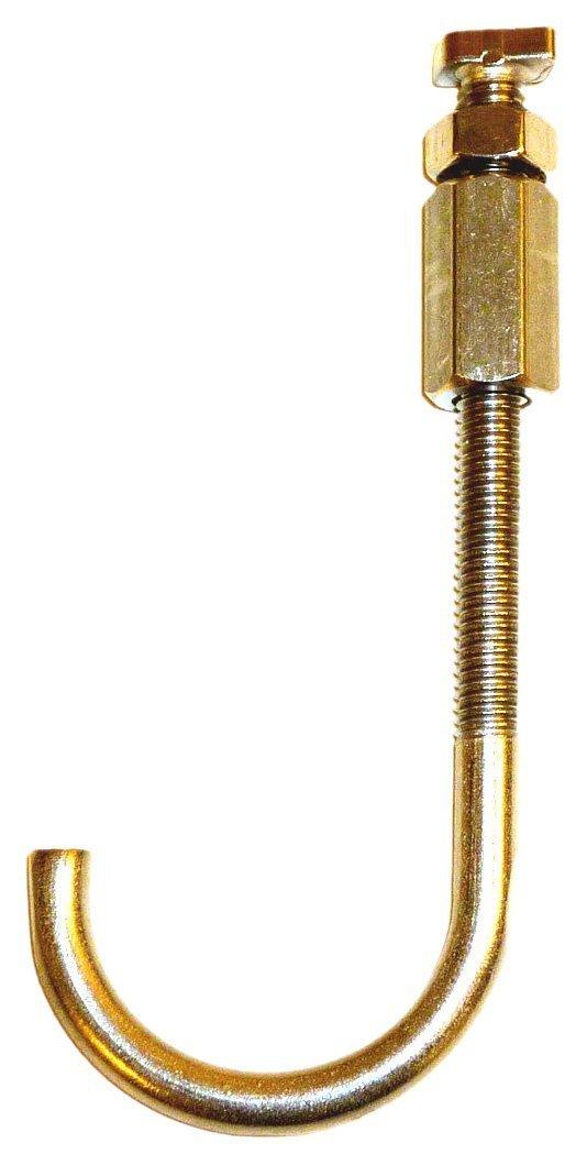Exaco - RIGA Adjustable Hooks - Greenhouse Set of 5 Adjustable Metal Hooks