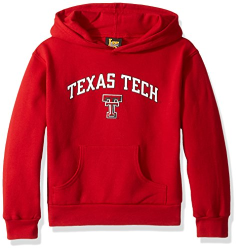 Texas Tech Baby Gear - Little King NCAA Texas Tech Red Raiders Hooded Pullover, 2T, Red