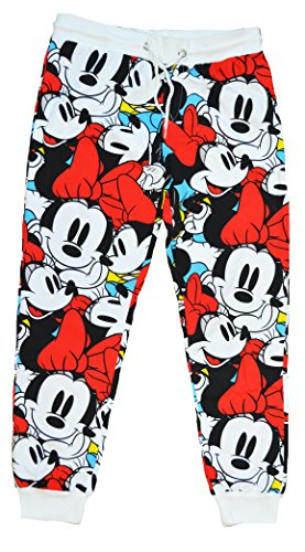 [Disney Junior's All Over Minnie Mouse Jogger Pants (Large)] (Walt Disney Outfits)