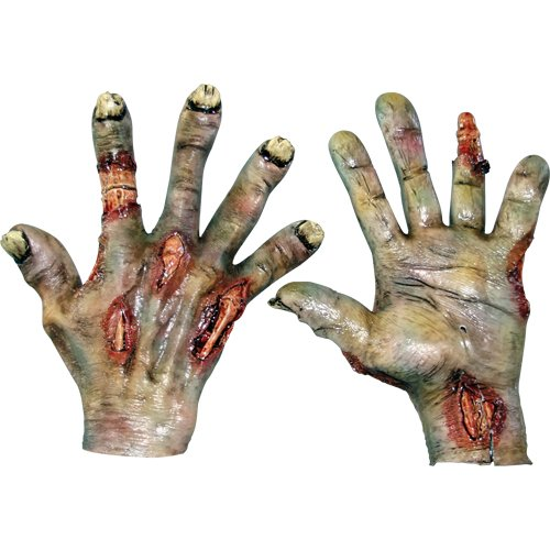 Ghoulish Costumes - Zombie Rotted Hands Costume Gloves