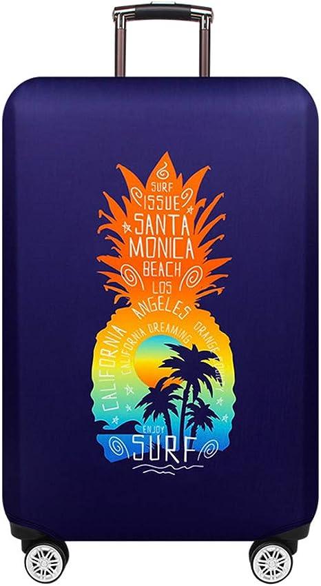 LQHYC Rainbow Stripes Travel Bolsa de Equipaje Bolsa de Equipaje Fundas Protectoras para Maletas Protector Trolley Estuche Accesorios para Viajes,Maleta Cubierta Y,L: Amazon.es: Deportes y aire libre