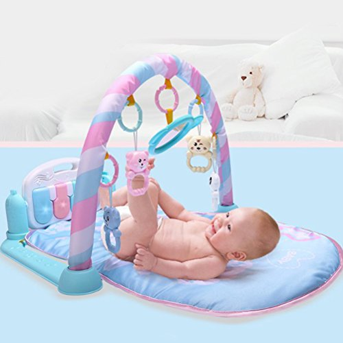low-cost TOYMYTOY Fitness Bodybuilding Frame Pedal Piano Music Play ...
