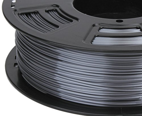 Stronghero3d 1.75mm PLA 3D Printer Filament Metal GREY- 1kg Spool (2.2 lbs) - Dimensional Accuracy +/- 0.03mm by 3DDPLUS