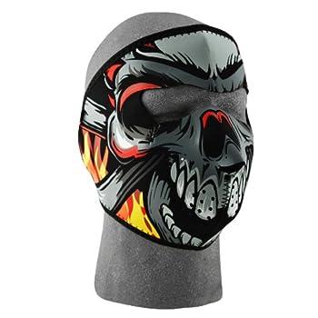 ZANheadgear Neoprene Lethal Threat Skull Face Mask