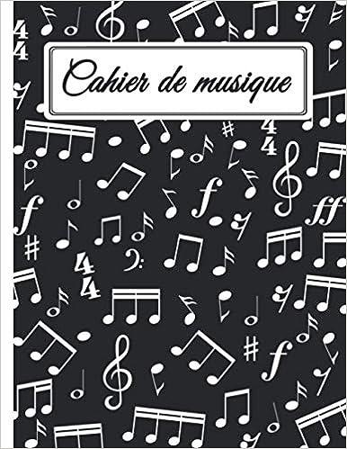 12 Portées par Page 105 Pages Cahier de Musique à Remplir Composition Musicale Cahier de Musique avec Portée Grand Format: Carnet de Partitions