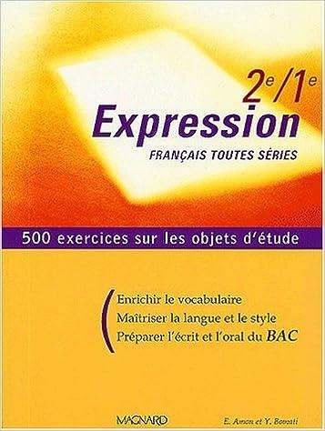 Livre Gratuits En Ligne Francais 2nde 1ere Toutes Series
