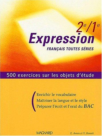 Telecharger Francais 2nde 1ere Toutes Series Expression Pdf