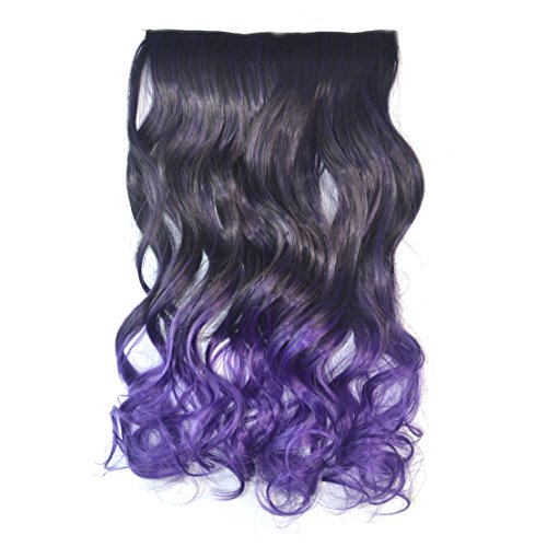 Color (Black To Purple Hair)
