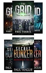 The Grid Trilogy/The Secret Bunker Trilogy: [Sci-Fi/Dystopian 6-Pack]