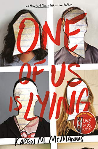 Book : One of Us Is Lying - Karen M. McManus