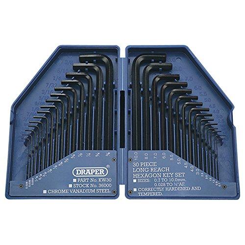 Draper 28744 - Estuche de llaves allen (30 piezas) Draper Tools Limited