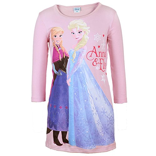 DISNEY Niñas Frozen Camisón, rosa, talla 128, 8 años: Amazon.es: Ropa y accesorios