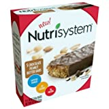 Nutrisystem Chocolate Peanutbutter Bar, 5 ct. box., 8.8 oz. For Sale