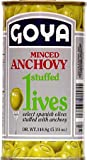Goya Foods Olives Stuffed With Anchovies, 5 Ounce (Pack of 12)