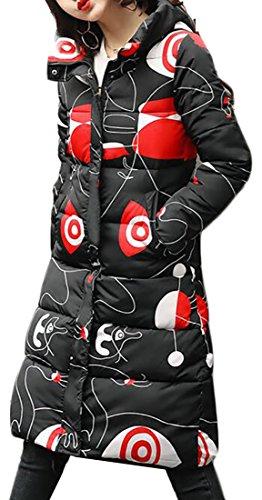 Warm Overcoat UK Down Womens Long Jacket Hooded Winter Cotton today 9 BPwt4xAx