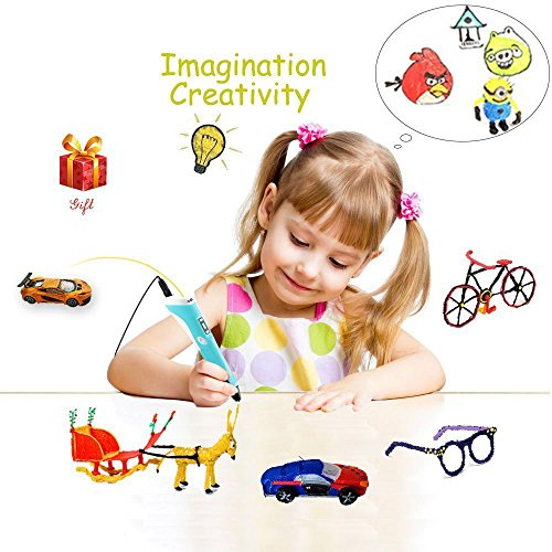 3D Pen,Vcall Upgraded 3D Printing Drawing Pen with LCD Screen for Doodle Model Making Arts and...