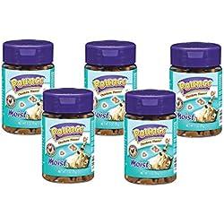 Pounce 5 Pack of Moist Cat Treats, 3 Ounces Each, Chicken Flavor