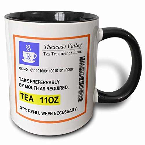 3dRose mug 194450 4 Prescription Humorous Prescribed