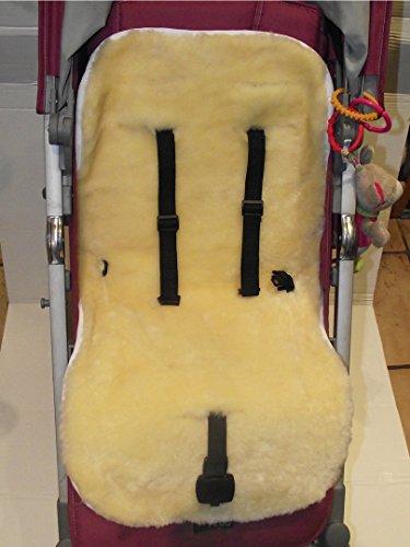 Kinderwagen Einlage Lammfell medizinisch 100% Merino Lammfell Baby Lammfell Einlage für Kinderwagen Buggy Babybett Kinderbett