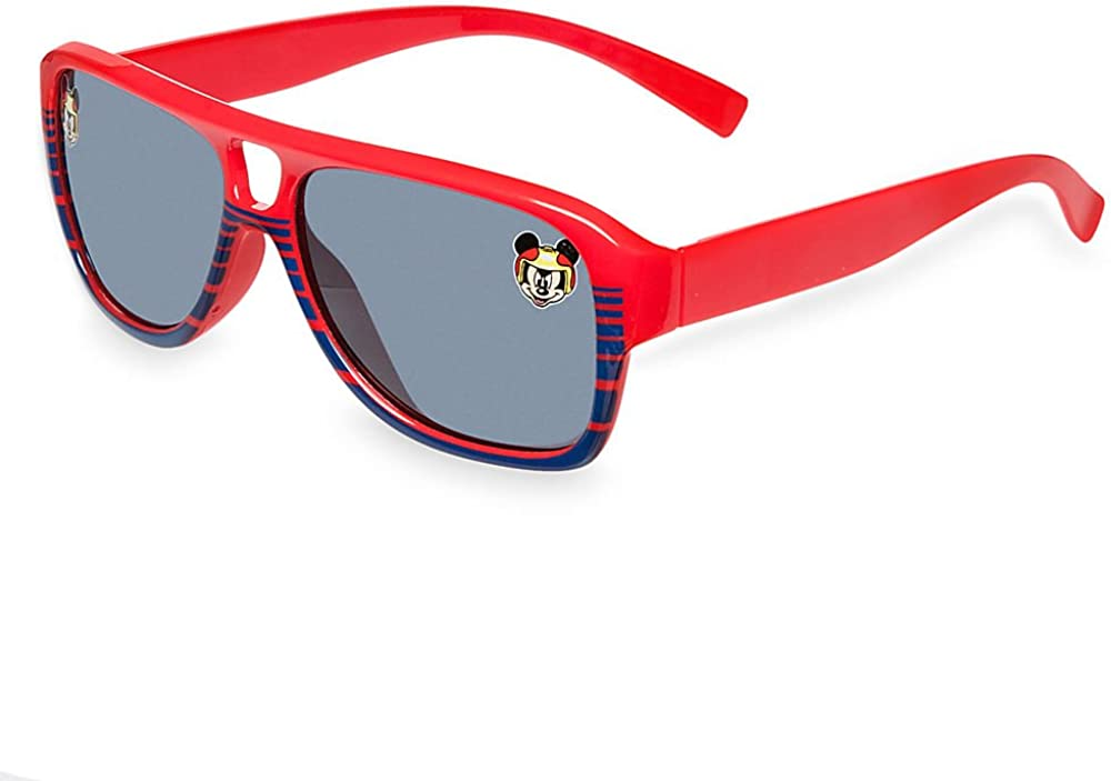 Disney Mickey and the Roadster Racers Boys Sunglasses One Size Red//black