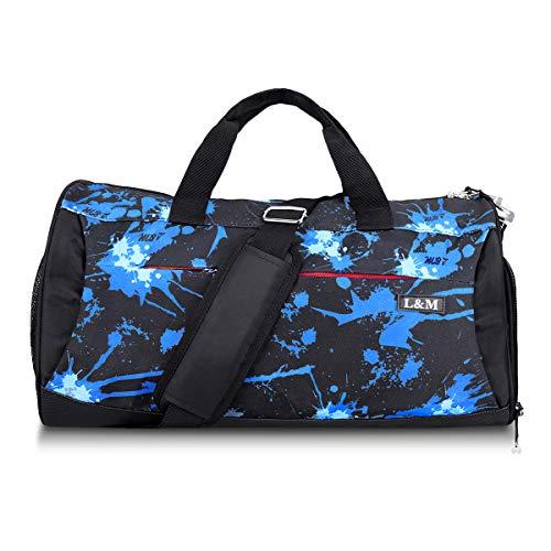Regolabile Da Dry 22 0 9 Nero × Viaggio Borsa 8 Bag Pollici Per Sportiva Vano Wet Il Blu Nuoto Yoga Sport Gym Con 10 X 2 Scarpe mile Tracolla Separare vEq4gnBqZ
