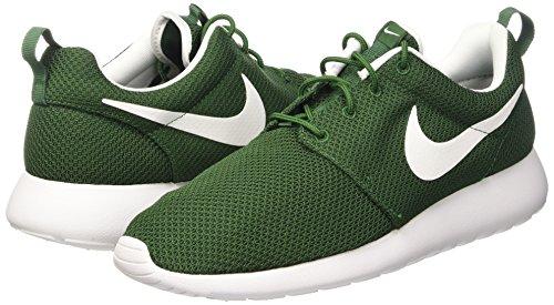 Nike Hommes One Blanc Vert Pour vert Blanc Gorge Roshe Sneakers wAAnqrpI