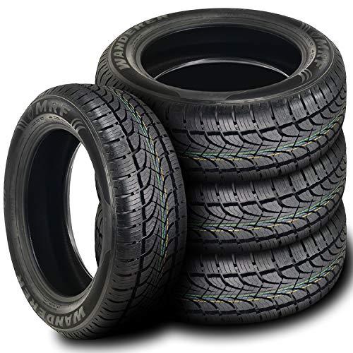Set of 4 (FOUR) MRF Wanderer S/L All-Season Radial Tires-235/55R19 105T (Best Highway Tires For Pickup Trucks)