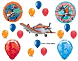 PLANES Disney Movie BIRTHDAY PARTY Balloons Decorations Supplies Airplane