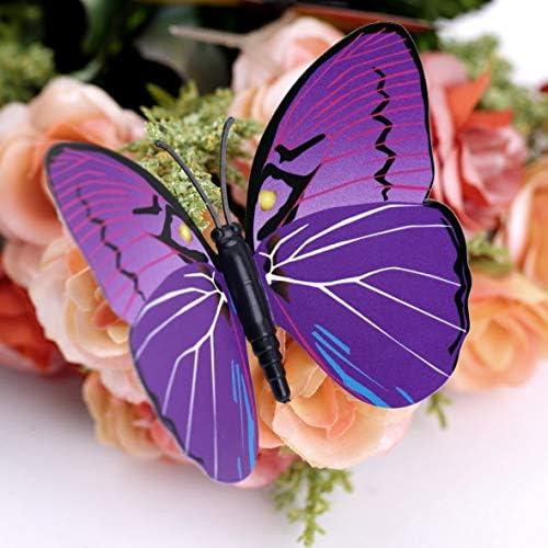 Tivollyff ゴシップガール同じスタイル6ビッグと6スモール3Dバタフライウォールステッカー蝶の装飾家の装飾のための装飾