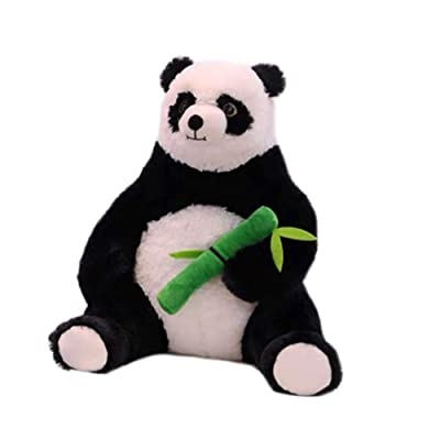 KAWAYI Cute Stuffed Panda Toy Bamboo Panda, Sweet Soft Panda Plush, Cloth Animal Panda Bear, Panda Soft Animal Doll Toy Gift for Girl, Girlfriend, Friend, Panda Toy for Children: Home & Kitchen