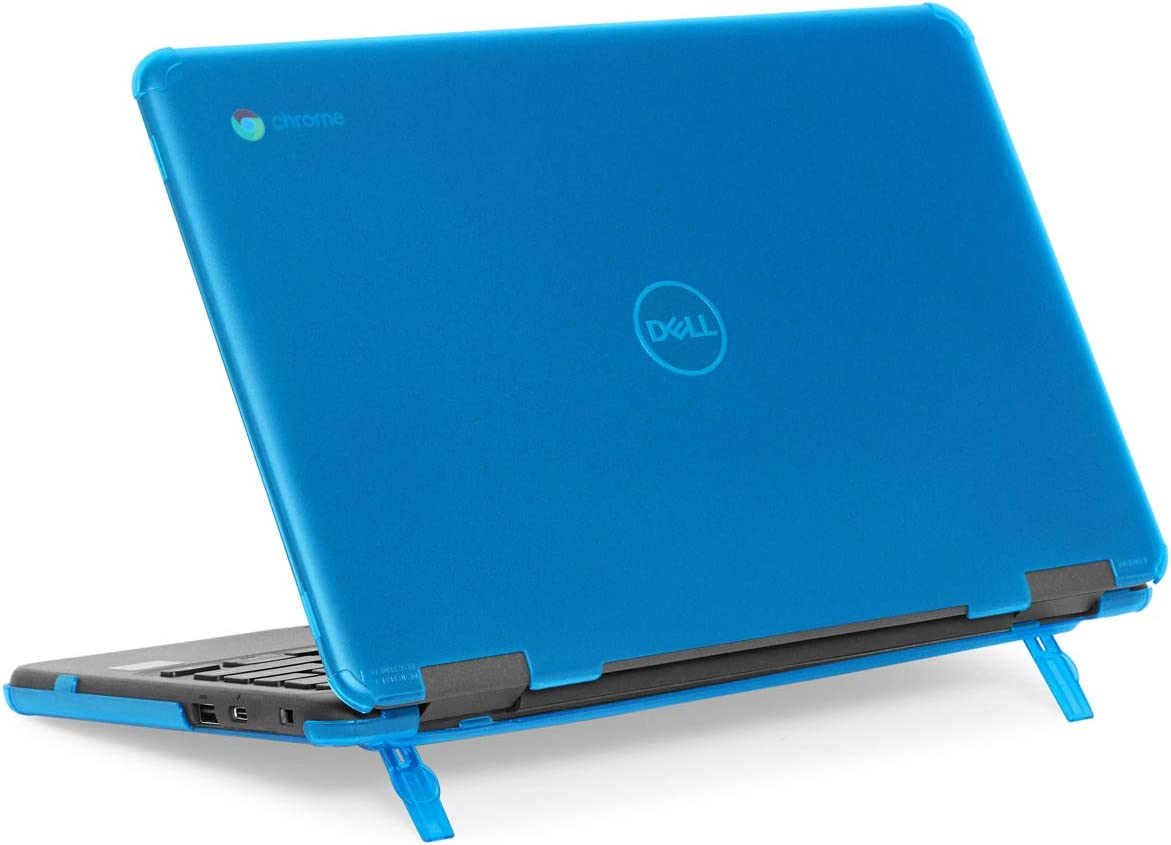 "mCover Hard Shell Case for 11.6"" Dell Chromebook 11 3100 Education non-2-in-1(180-degree Hinge) Laptop (NOT Compatible with 3181/3100 2in1, 210/3120/3180/3189/5190 Series) - Dell-C3100-non2in1 Aqua"