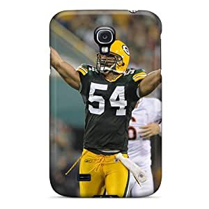 New Tpu Hard Cases Premium Galaxy S4 Skin Cases Covers(green Bay Packers) Black Friday