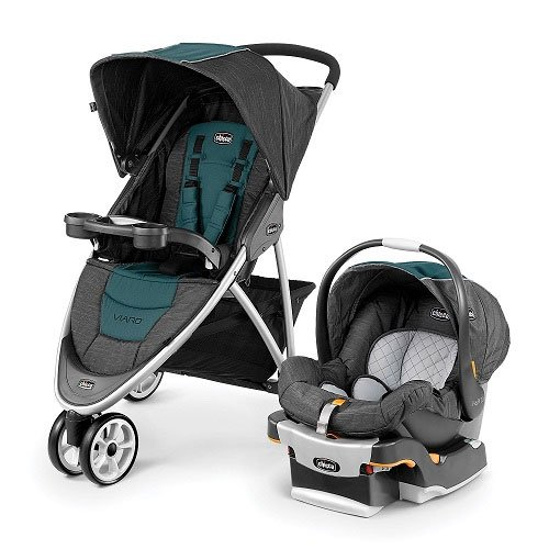 Chicco Travel System Pram - 3