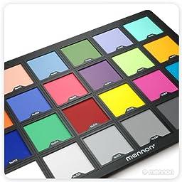 Mennon Test Color Chart Super Large Size 15\