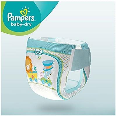 Pampers Baby Dry Pañales Tamaño 3 + midi plus 5 – 10 kg Mega Pack ...