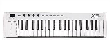 MIDIPLUS X6 mini – Mini controlador de teclado, Blanco