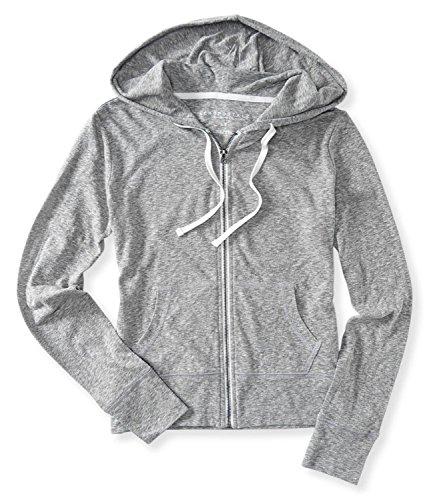 Aeropostale Womens Heathered Hoodie Sweatshirt