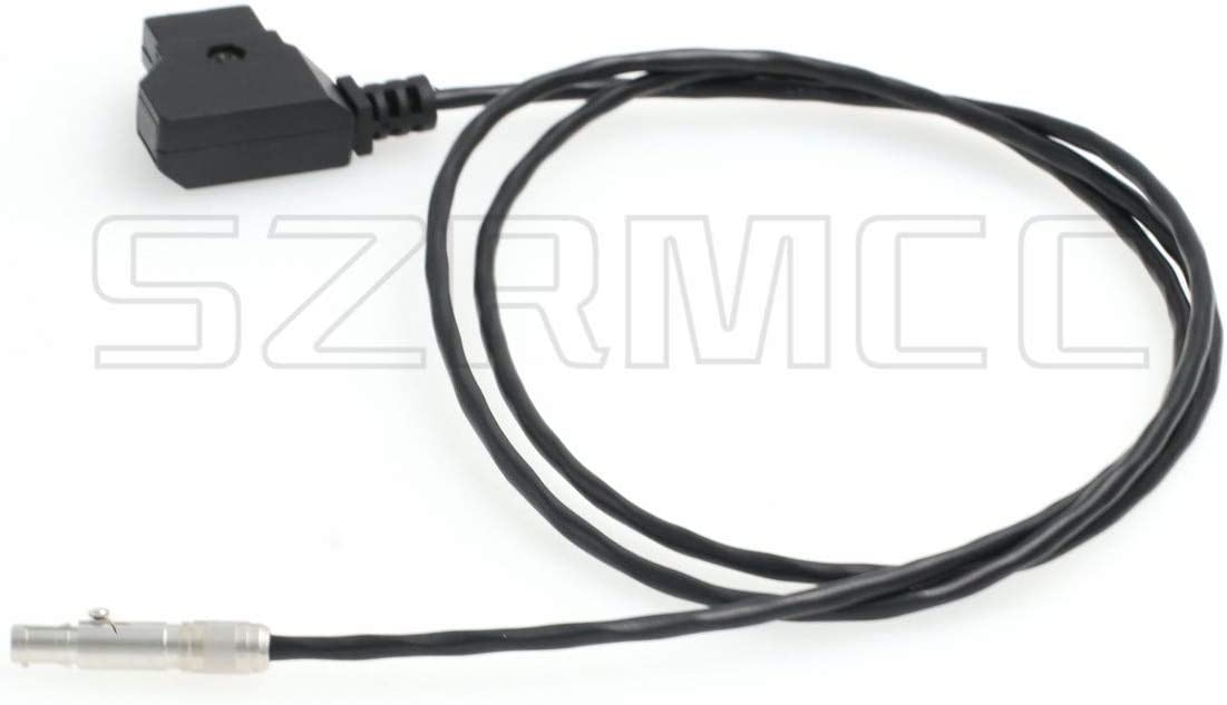 Straight Cable SZRMCC Neutrik Female 3 Pin to D-Tap Power Cable for Odyssey 7 7Q 7Q Monitor,Apollo Monitor Recorder