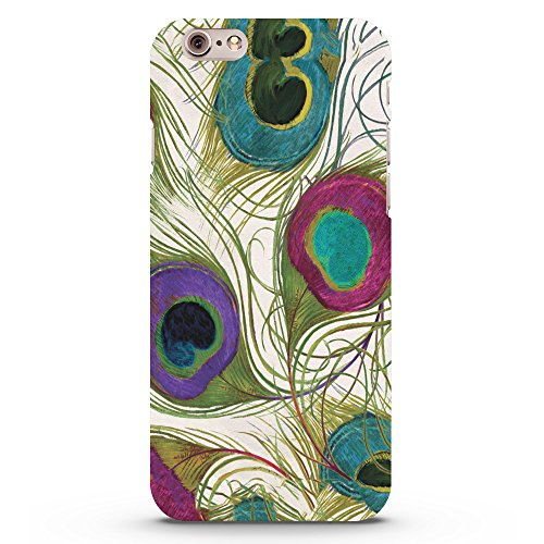 Koveru Back Cover Case for Apple iPhone 6 - Peacock Feather