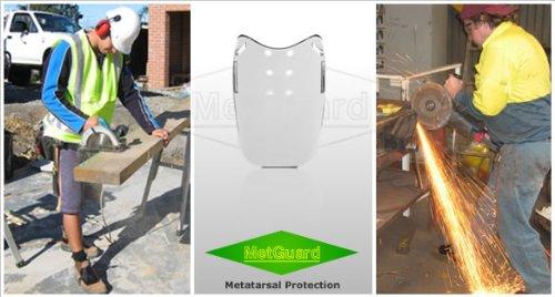 Impacto Kanga Tuff Metguard Safety Footwear Metatarsal Protection Attachment - 20pairs (1 Case) By Sena Safety by Sena Safety (Image #2)