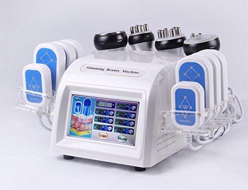 7 en 1 lipo láser adelgazante 40 prueba Bipolar RF arrugas presión ...