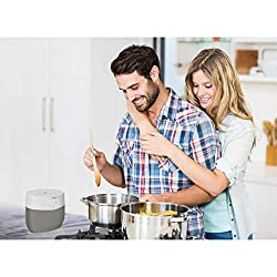 iHome Google Assistant Built-in Chromecast Smart Home Alarm Clock with Wi-Fi Multiroom Audio Bluetooth Speaker System for Streaming Music with USB Charging Port