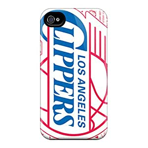 Protection Case For Iphone 4/4s / Case Cover For Iphone(los Angeles Clippers)