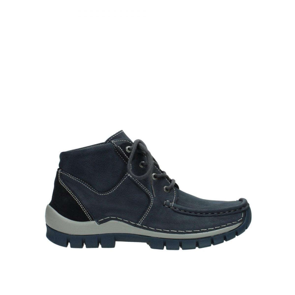 Wolky 0473511802 - Zapatos de cordones para mujer 37 EU|Azul