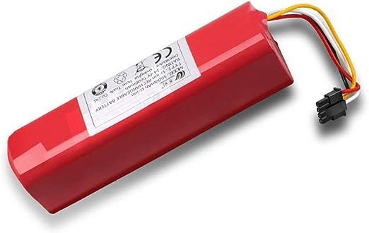 5600mah Li-ion 18650 batería para robot aspirador Xiaomi Robot ...
