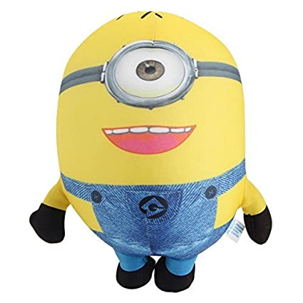 800d92f5f739 Amazon.com: Great Value Stuffed Animals Super Cute One-Eye Minions  Nanoparticles Doll Toy Yellow: Toys & Games