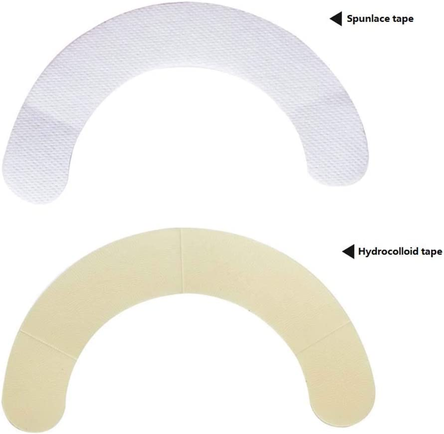Elastic Barrier Strips, Ostomy Chassis Leak-Proof Ring, Medical Supplies, Prevent Flange Warping and Shifting, Pack of 20,Spunlacetape: Health & Personal Care