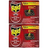 2-Pack Raid Double Control Small Roach Baits Plus Egg Stoppers 12-count Boxes