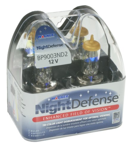 (Wagner 9003 NightDefense Replacement Bulb, (Pack of 2))