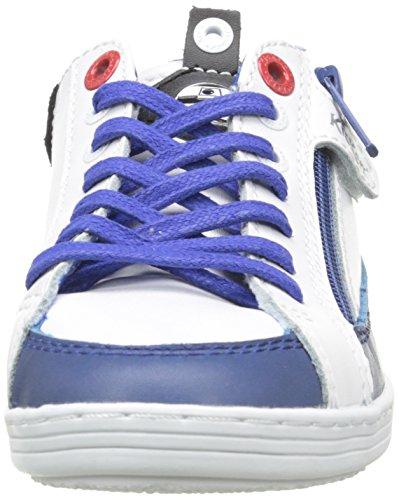 Kickers R2-d2 K L - Zapatilla Baja Niños Azul / Blanco